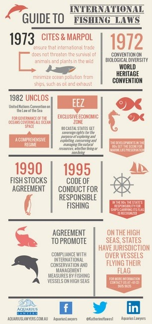 Guide to international fishing law aquarius lawyers for Fish law firm