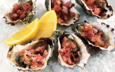 Delicious Oysters Kilpatrick recipe for Easter!